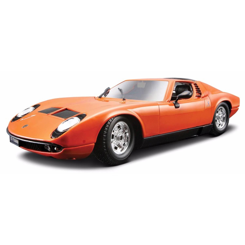 Modelauto Lamborghini Miura 1:18 speelgoed auto schaalmodel