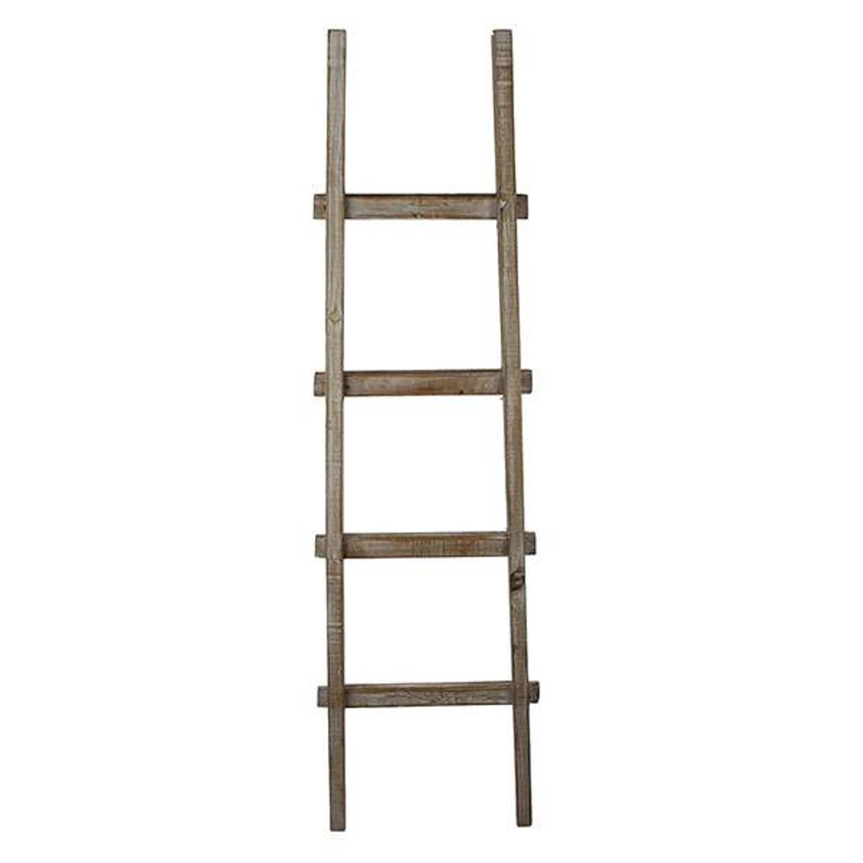 Houten Decoratie Ladder 40x5xh140 Cm Blokker