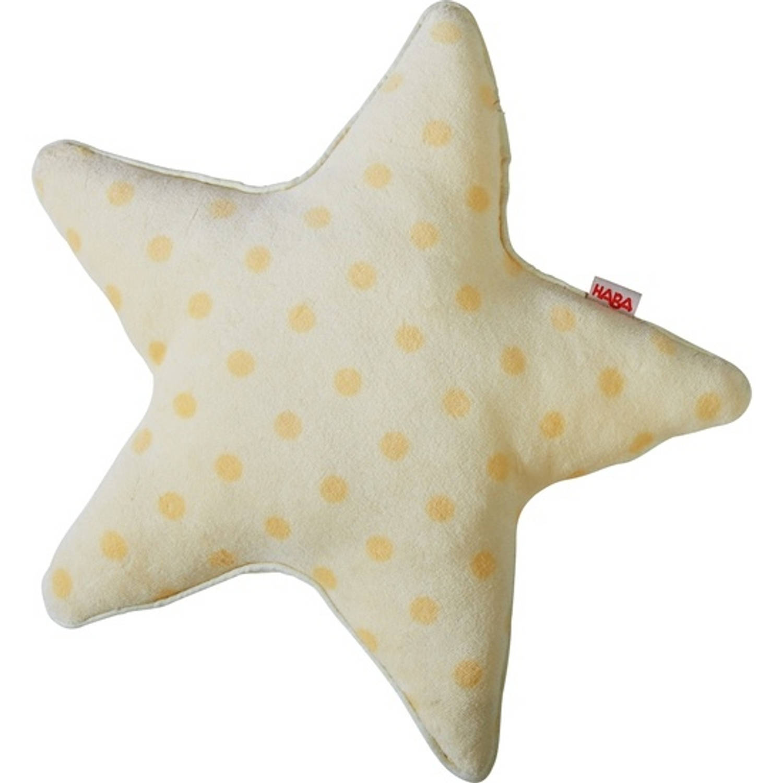 Haba kussenset sterrenhemel geel 2 stuks 37 x 37 cm