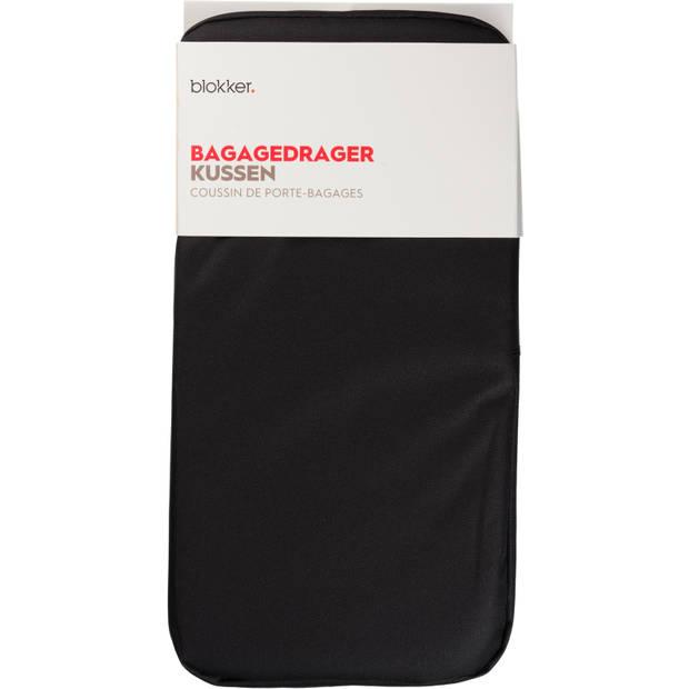 Bagagedrager Kussen Zwart