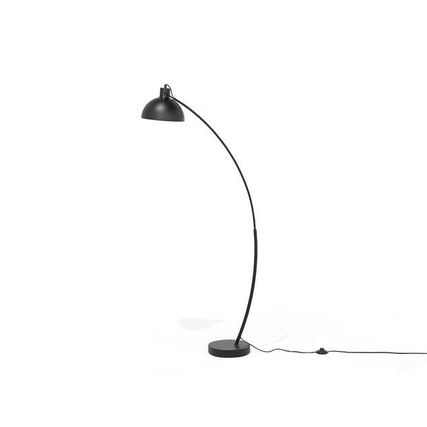 Beliani DINTEL Staande lamp Metaal 25 x 25 cm