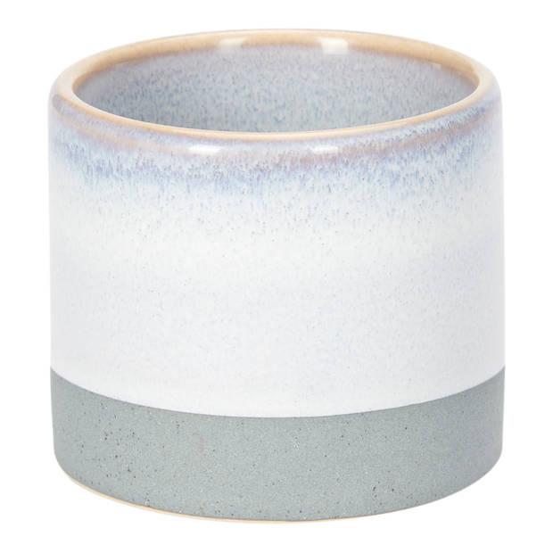 Pot keramiek klein - Ø 7x6 cm