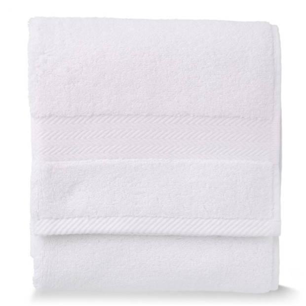 Blokker handdoek 600g - wit - 50x100 cm