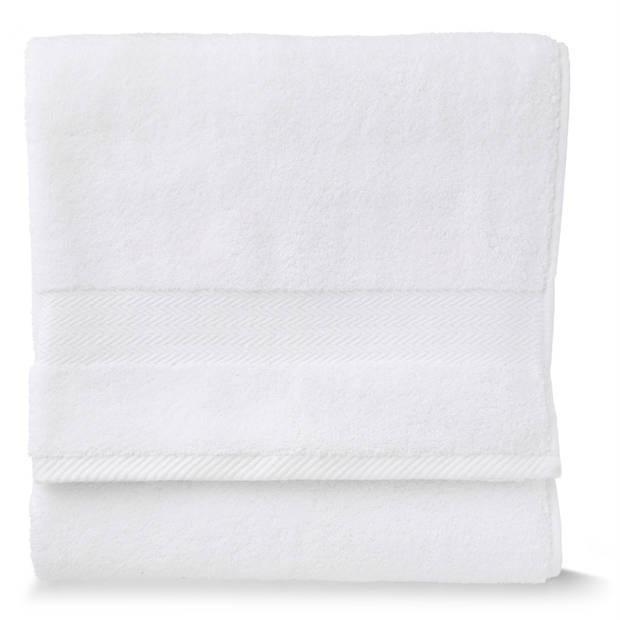 Blokker handdoek 600g - wit 110x60 cm