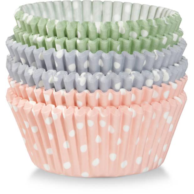 Blokker cupcakevormpjes 5 cm - 75 stuks