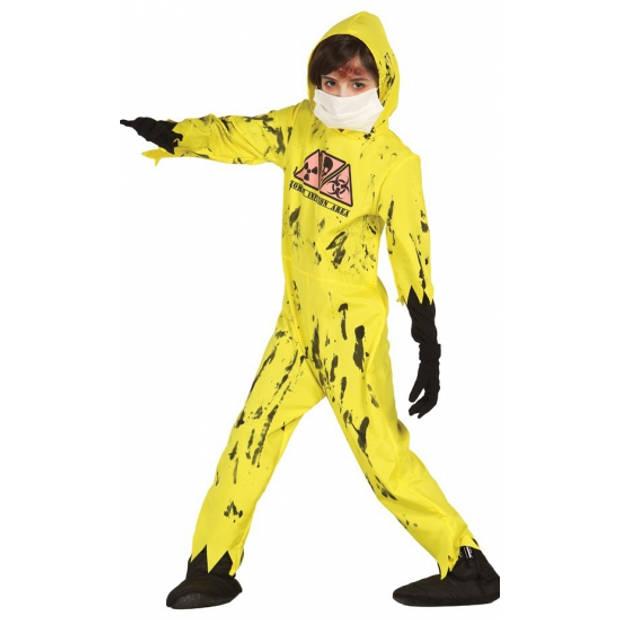 Nuclear zombie kostuum voor kinderen 98-104 (3-4 jaar)