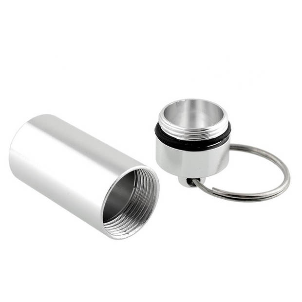 Medicijnen sleutelhanger Waterdichte pillenkoker
