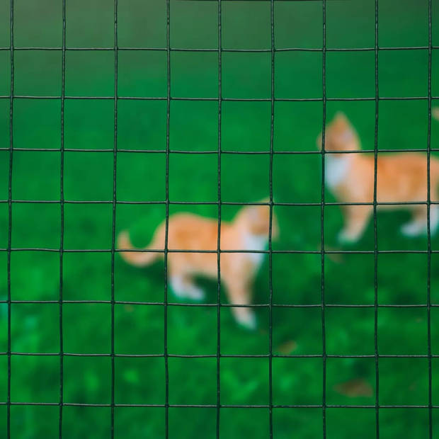 Nature Tuinhek vierkant gaas groen 0,5x2,5 cm 6050260