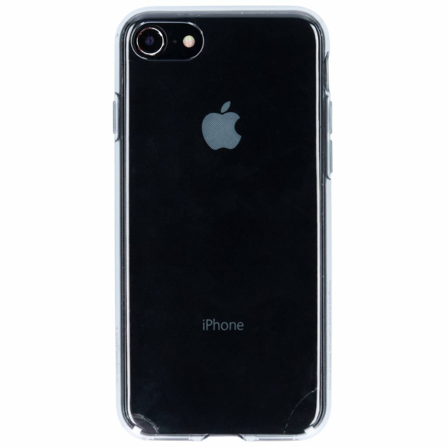 Transparante Space Liquid Crystal™ Case voor de iPhone 8 / 7
