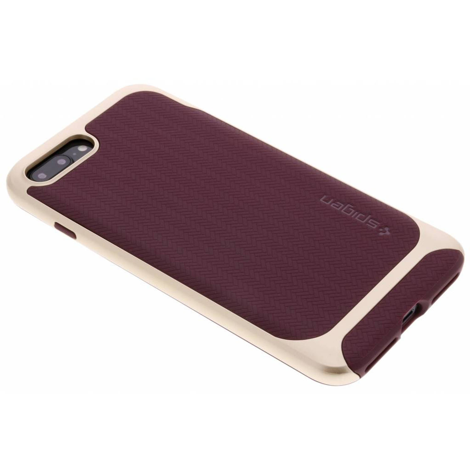 Paarse Neo Hybrid™ Herringbone Case voor de iPhone 8 Plus / 7 Plus