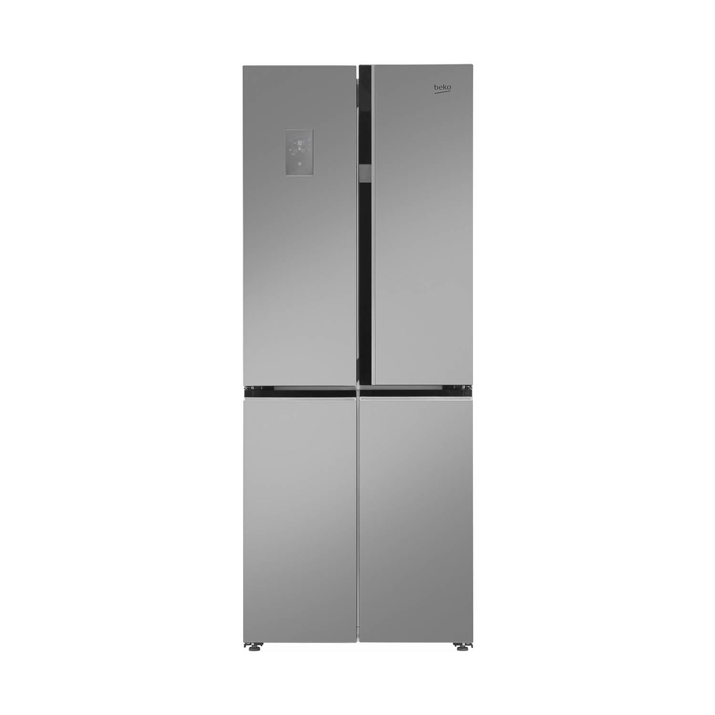 Beko GNE480E20ZXP amerikaanse koelkasten - Roestvrijstalen effect