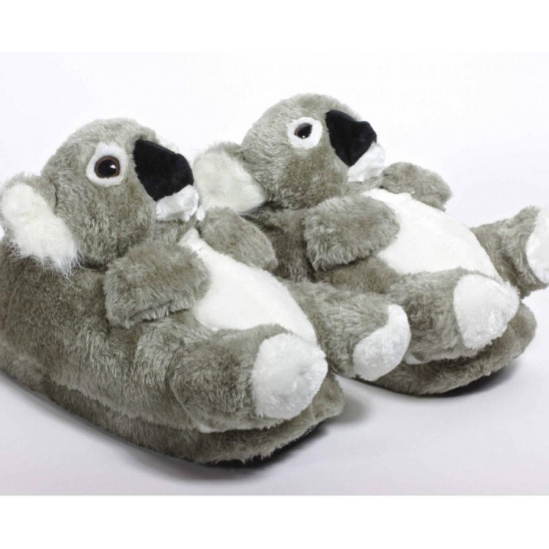 Volwassenen dieren sloffen / pantoffels koala M (37-38,5)
