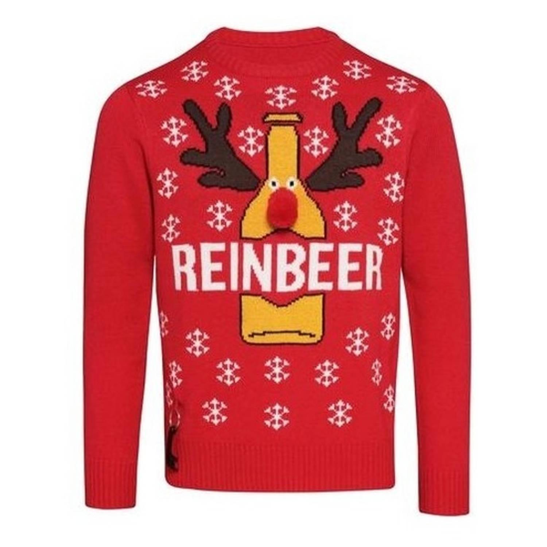 Rode kerst trui Reinbeer voor heren L (42/52)