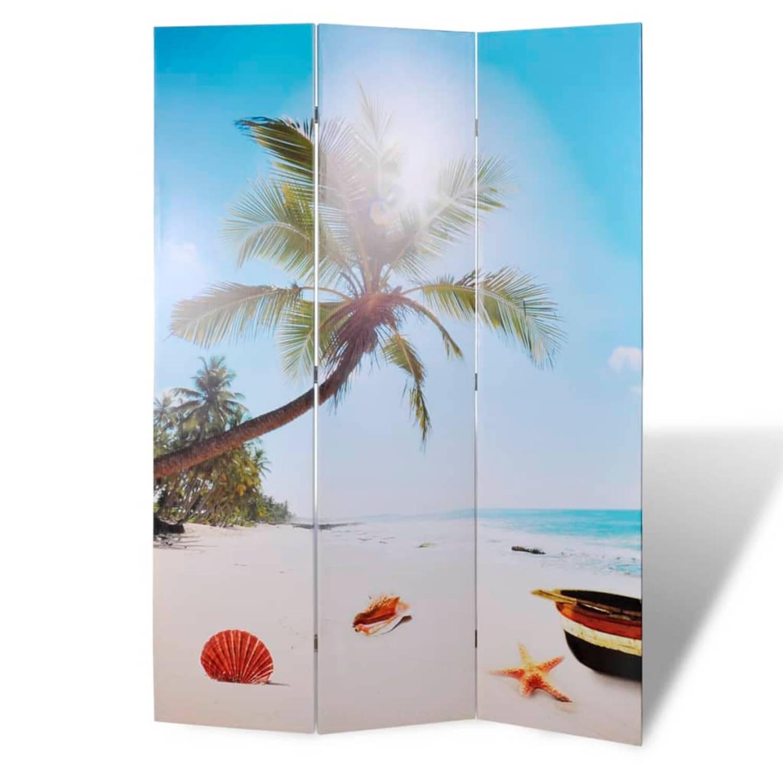 vidaXL Kamerscherm 120 x 180 cm Strand
