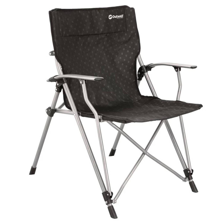 Outwell Inklapbare stoel Goya 68x63x90 cm zwart 470044