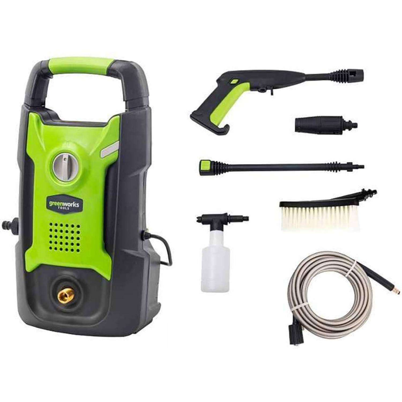 Greenworks Hogedrukreiniger elektrisch GPWG1 100 bar 1300 w 5100007
