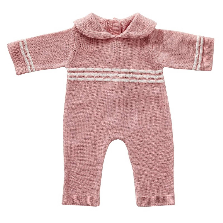 byAstrup babypakje gebreid 35 cm roze