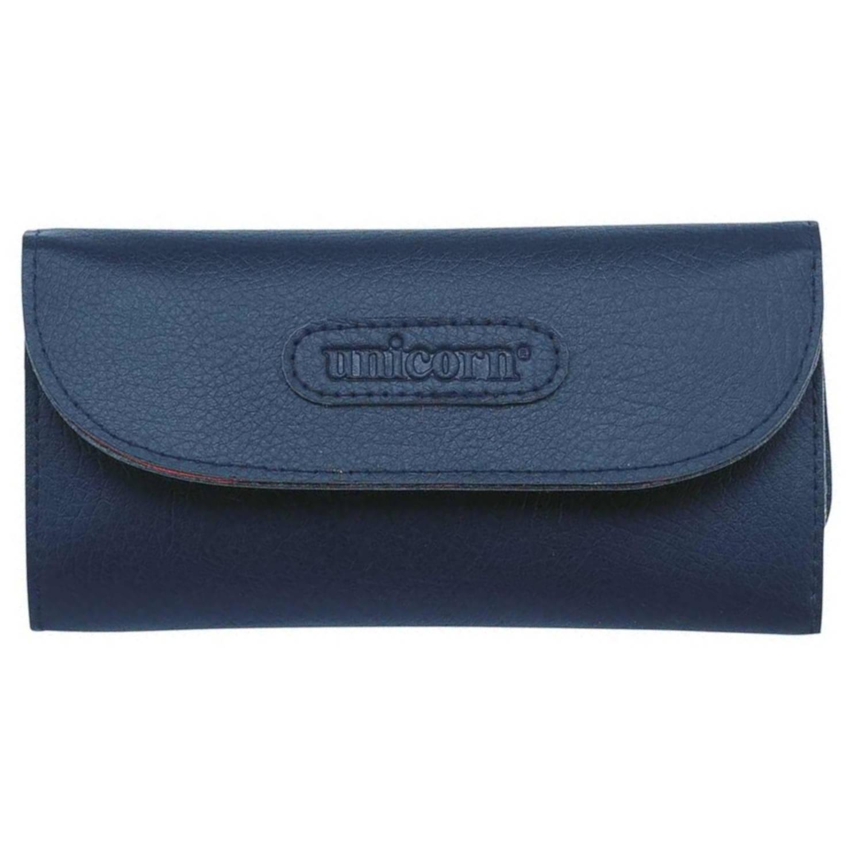 Unicorn dartetui Maestro Wallet 17 x 9 cm blauw 38 delig