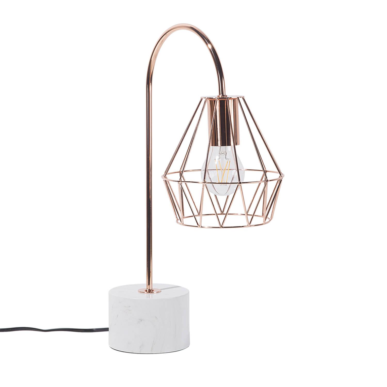 Korting Beliani Mooni Tafellamp Metaal 35 X 35 Cm