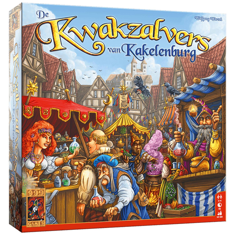 999 Games - De Kwakzalvers van Kakelenburg - Bordspel