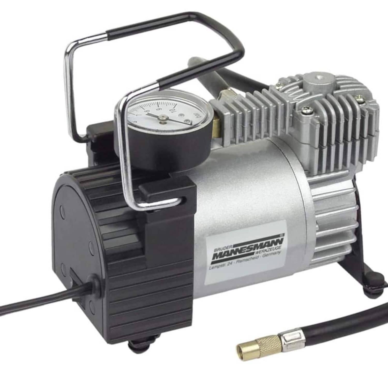 Korting Brüder Mannesmann Mini Compressor Aluminium 12 V 01790