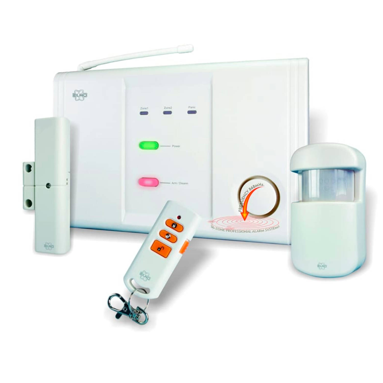 ELRO Draadloos alarmsysteem voor 2 zones