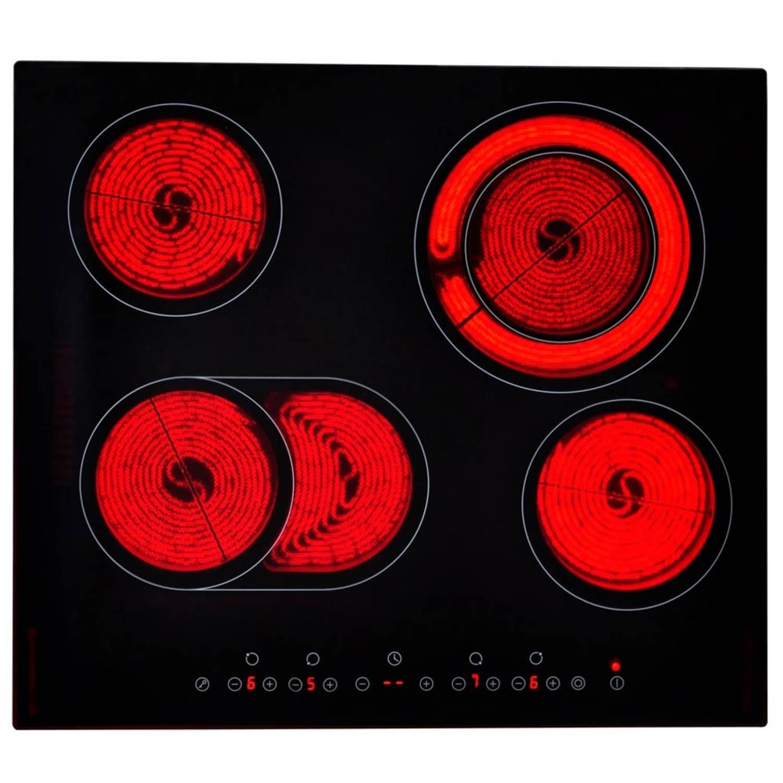 vidaXL Keramische kookplaat EUROKERA glas 6000-7200 W