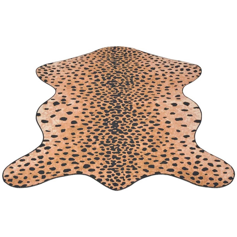 vidaXL Vloerkleed 110x150 cm cheeta print