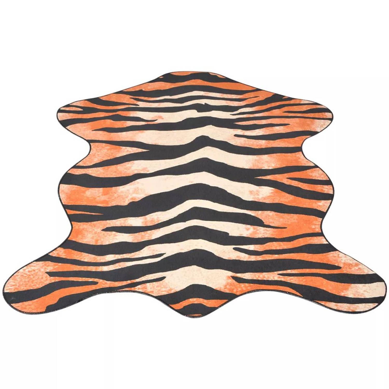 vidaXL Vloerkleed 110x150 cm tijgerprint