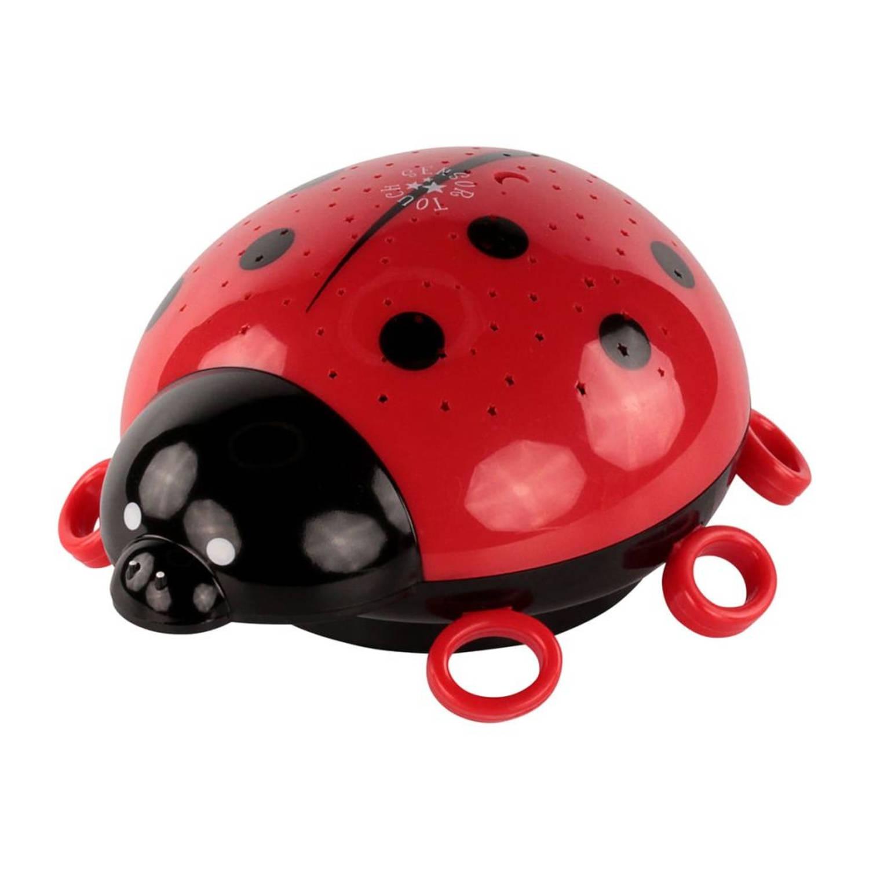 Ansmann Nachtlampje lieveheersbeestje 15,4x8,2x15,9 cm rood 5870012