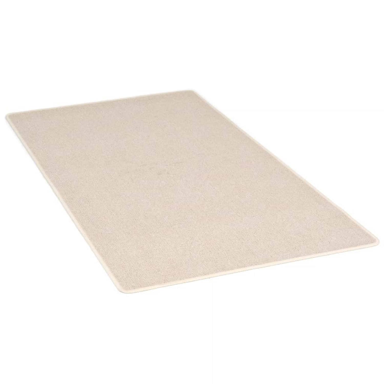 vidaXL Vloerkleed getuft 190x290 cm beige