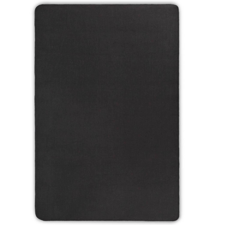 vidaXL Tapijt met latex onderkant 120x180 cm jute grijs