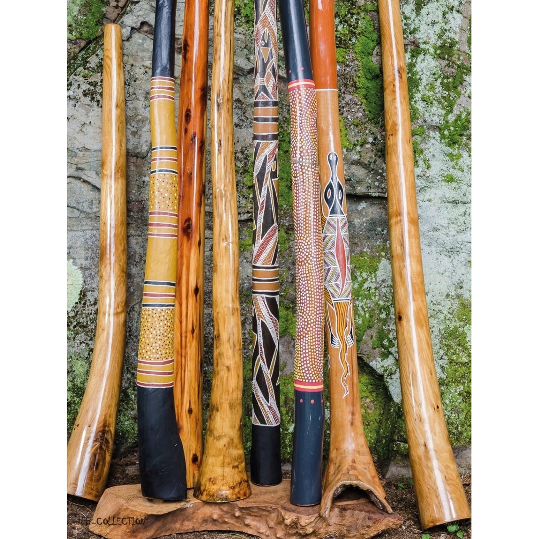 2 Stuks Tuinschilderij Down Under Didgeridoo 50x70cm