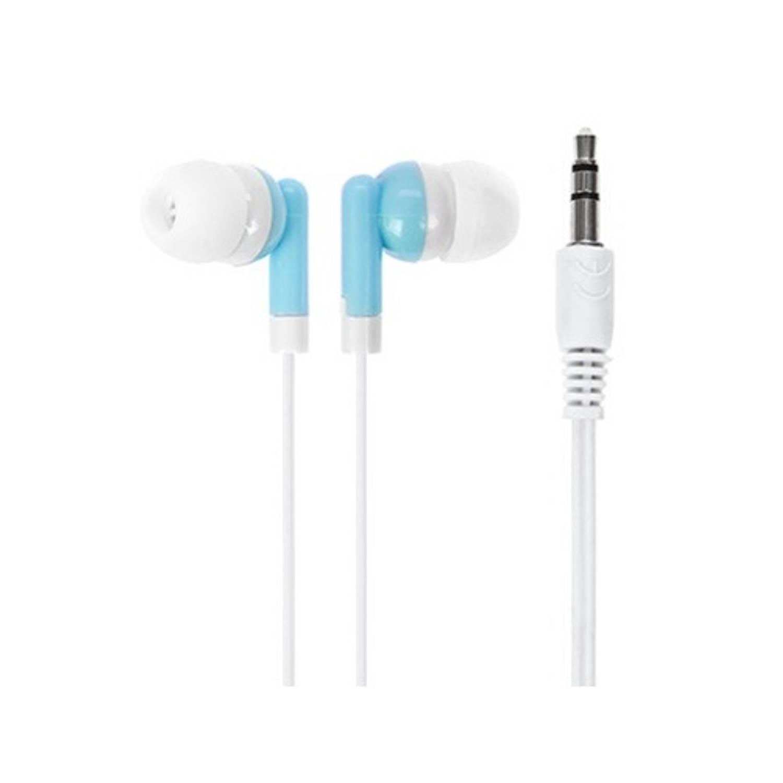 Kamparo oordopjes In-ear kunststof/siliconen 89 cm blauw