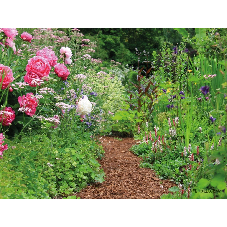 2 Stuks Tuinschilderij English Cottage Garden 50x70cm