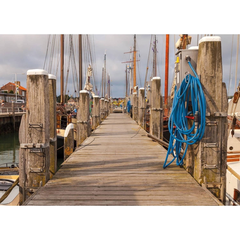 2 Stuks Tuinschilderij Harbour 50x70cm