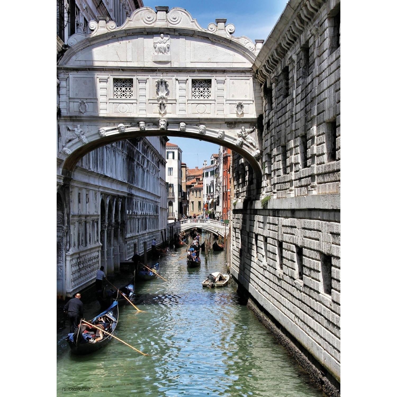 2 Stuks Tuinschilderij Venice 50x70cm