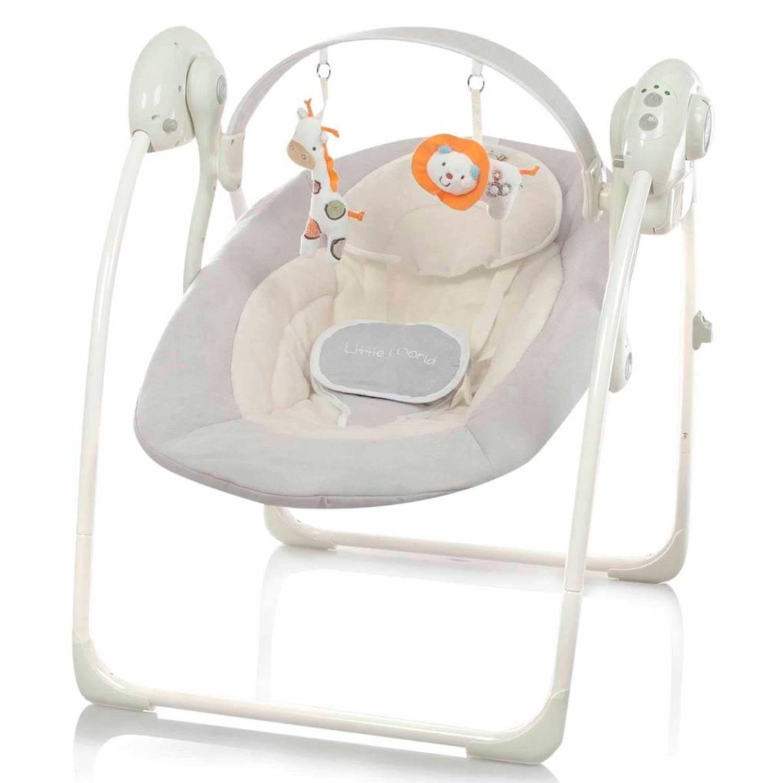 Little World Babyschommel Dreamday grijs LWBS001-GY
