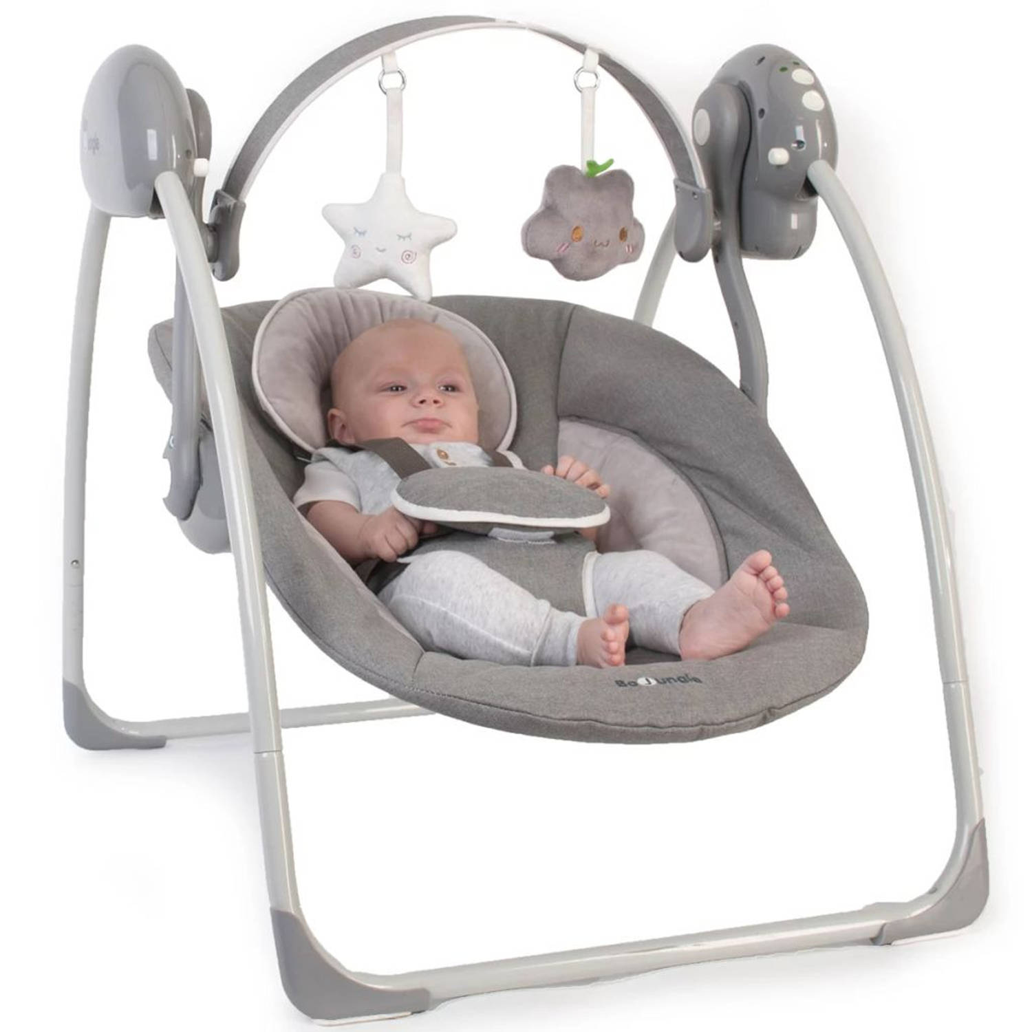 Bo Jungle B-Portable Babyschommel grijs B700310