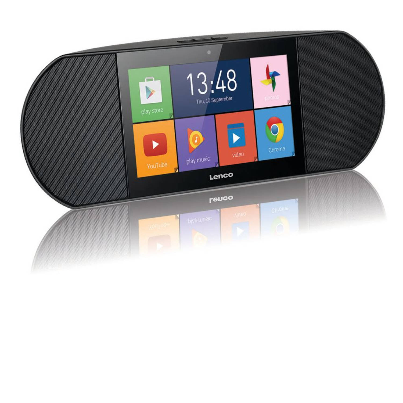 Lenco Internetradio met Smart Media Centre Diverso-700GY zwart