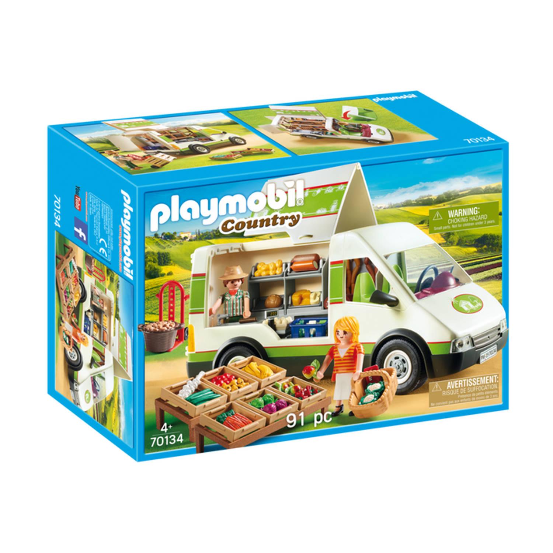 Korting PLAYMOBIL Country marktkraamwagen 70134