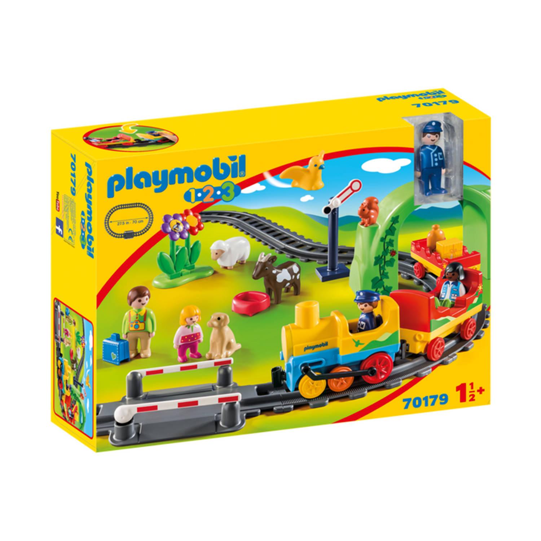 PLAYMOBIL 1 2 3 Mijn eerste trein 70179
