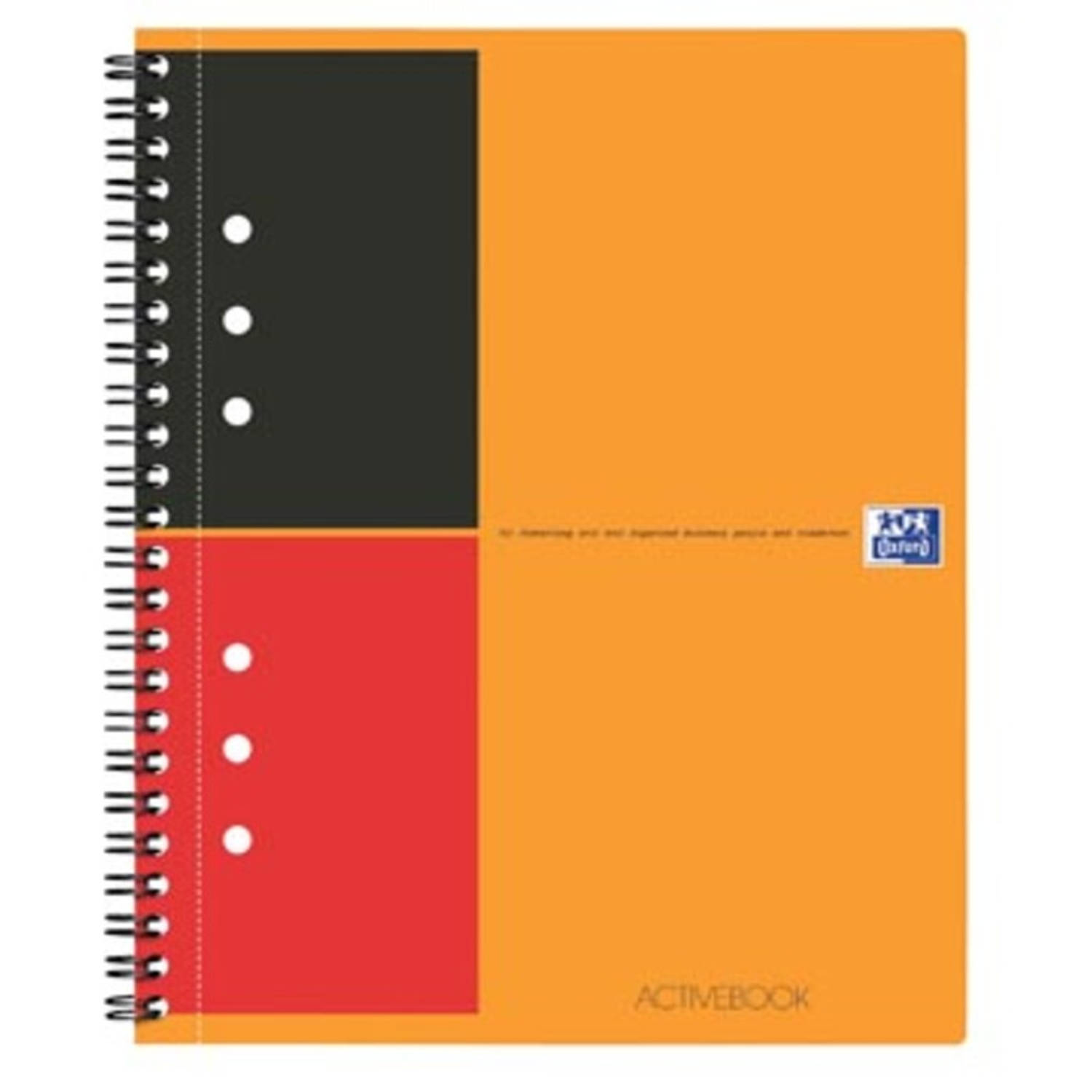 Oxford INTERNATIONAL Activebook, 160 bladzijden, ft A5+, gelijnd