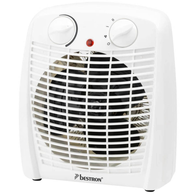Bestron Ventilatorverwarming 2000 W wit AFH211W