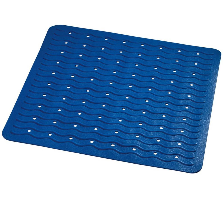 RIDDER Douchemat anti-slip Playa 54x54 cm blauw 68403