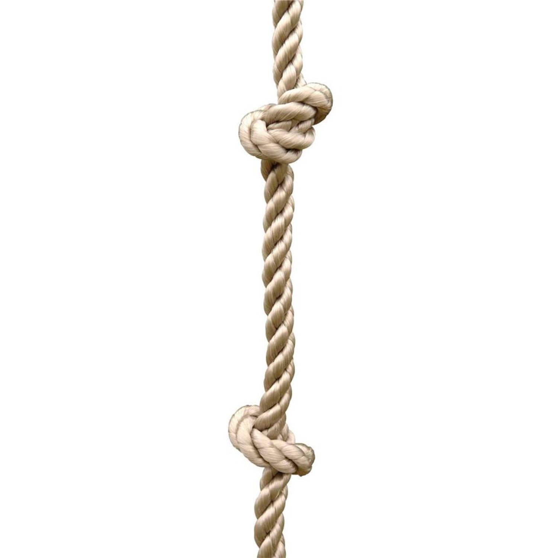 TRIGANO Klimtouw met knopen voor schommelsets 1,9-2,5 m J-471