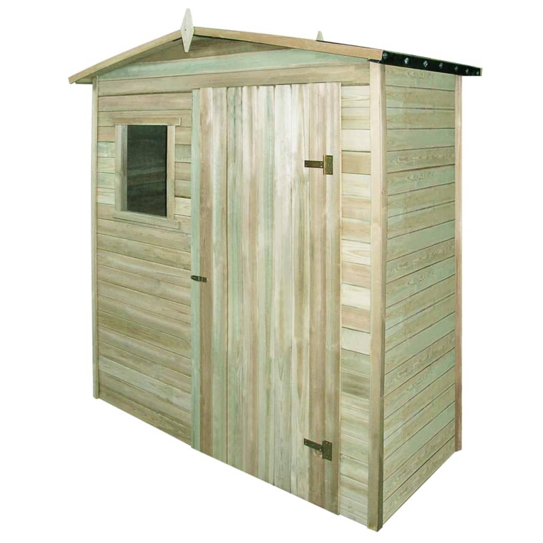 vidaXL Tuinhuis 200x100x210 cm geimpregneerd grenenhout