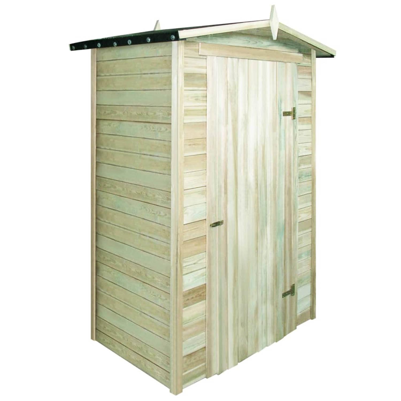 vidaXL Tuinhuis 150x100x210 cm geimpregneerd grenenhout