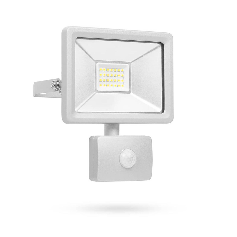 Smartwares LED-beveiligingslamp met sensor 20 W grijs SL1-DOB20