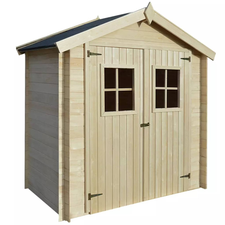 vidaXL Tuinhuis 2x1 m 19 mm hout